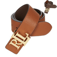 Clothes accessories Women Belts Lauren Ralph Lauren REV LRL 40 Brown / Cognac