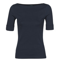 Clothing Women Long sleeved tee-shirts Lauren Ralph Lauren JUDY Marine