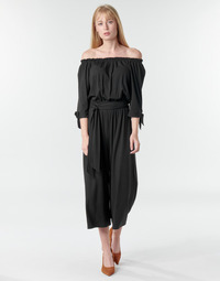 Clothing Women Jumpsuits / Dungarees Lauren Ralph Lauren VANDRIN Black
