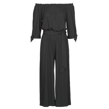 Clothing Women Jumpsuits / Dungarees Lauren Ralph Lauren VANDRIN Black