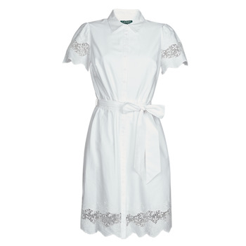 Clothing Women Short Dresses Lauren Ralph Lauren DORTHIA White