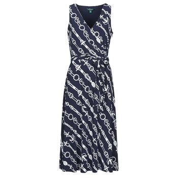 Clothing Women Long Dresses Lauren Ralph Lauren CARANA Marine