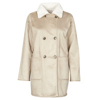 Clothing Women Coats Lauren Ralph Lauren RVRSBL FXSH-COAT Camel