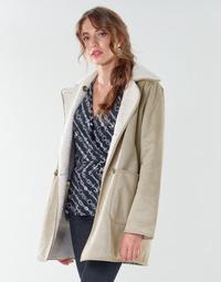 Clothing Women Coats Lauren Ralph Lauren RVRSBL FXSH-COAT Camel