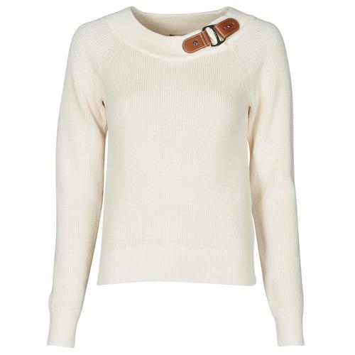 Clothing Women Jumpers Lauren Ralph Lauren DERYNA Cream