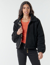Clothing Women Jackets Billabong HIT THE ROAD Black