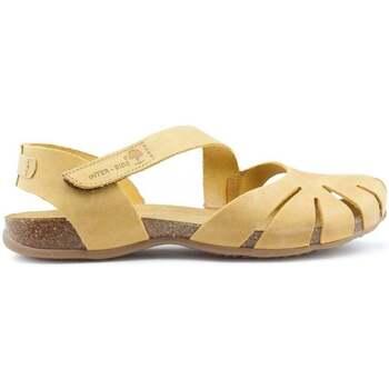 Shoes Women Sandals Interbios Sandals  UNIVERSE YELLOW