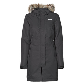 Clothing Women Parkas The North Face W RECYCLED ZANECK PARKA Black