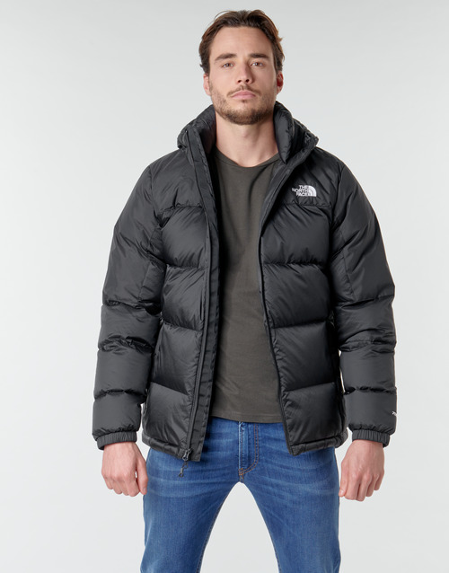 Clothing Men Duffel coats The North Face DIABLO DOWN HOODIE Black