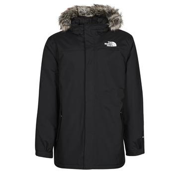 Clothing Men Parkas The North Face RECYCLED ZANECK JACKET Black