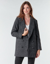 Clothing Women Coats Le Temps des Cerises DILAN1 Black