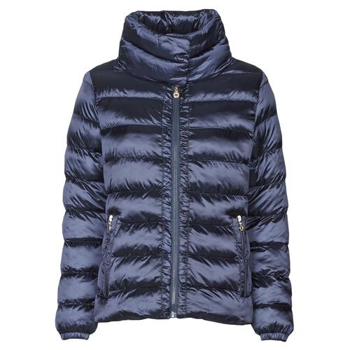 Clothing Women Duffel coats Le Temps des Cerises DOLORES Blue