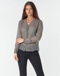 Clothing Women Tops / Blouses Le Temps des Cerises OTTA Grey
