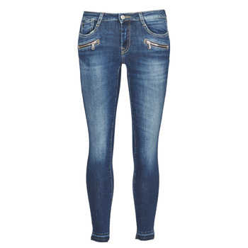 Clothing Women Skinny jeans Le Temps des Cerises POWER KIEV Blue