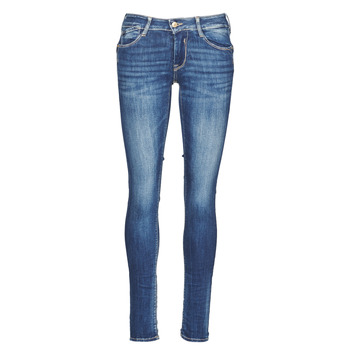 Clothing Women Slim jeans Le Temps des Cerises PULP Blue