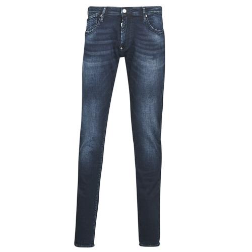 Clothing Men Slim jeans Le Temps des Cerises 711 JOGGB Blue