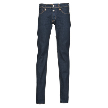 Clothing Men Slim jeans Le Temps des Cerises 711 APA Blue