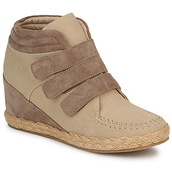 Shoes Women Hi top trainers No Name SPLEEN STRAPS Beige taupe