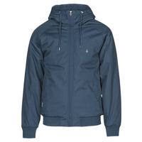 Clothing Men Jackets Volcom HERNAN 5K JACKET Blue