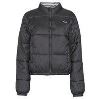 Clothing Women Duffel coats Volcom PUFFS N STUF REV JKT Black