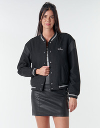 Clothing Women Jackets Volcom TINYTED BOMBER Black