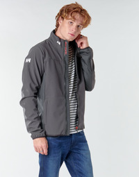 Clothing Men Jackets Helly Hansen CREW SOFTSHELL JACKET Grey