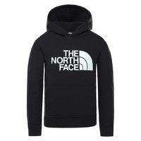 Clothing Children Sweaters The North Face DREW PEAK HOODIE Black