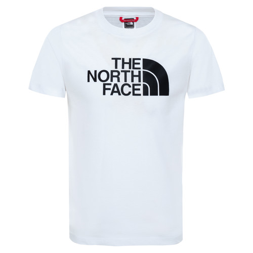 Clothing Boy Short-sleeved t-shirts The North Face EASY TEE White