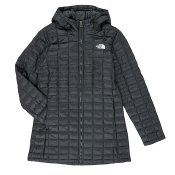 Clothing Girl Duffel coats The North Face THERMOBALL ECO PARKA Black