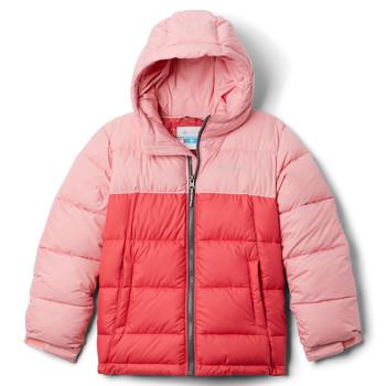 Clothing Girl Duffel coats Columbia PIKE LAKE JACKET Pink