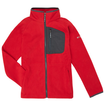Clothing Boy Fleeces Columbia FAST TREK Red