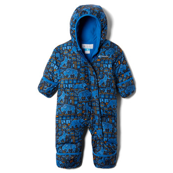 Clothing Boy Duffel coats Columbia SNUGGLY BUNNY Blue