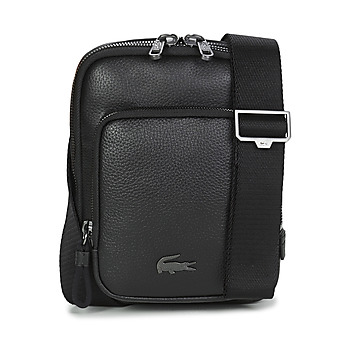 Bags Men Pouches / Clutches Lacoste SOFT MATE MEDIUM Black