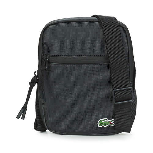 Bags Men Pouches / Clutches Lacoste LCST SMALL Black