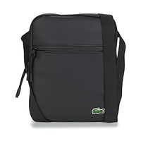 Bags Men Pouches / Clutches Lacoste LCST MEDIUM Black