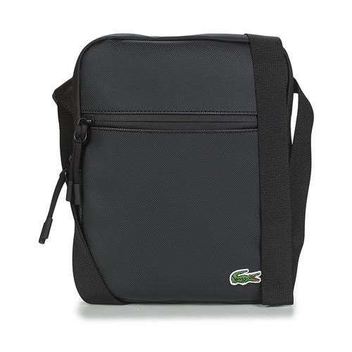Bags Men Pouches / Clutches Lacoste LCST MEDIUM Black