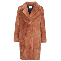 Clothing Women Coats Les Petites Bombes ANJUNA Brown