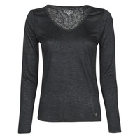 Clothing Women Long sleeved tee-shirts Les Petites Bombes ADRIANA Black