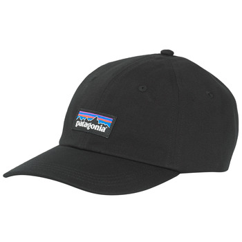 Clothes accessories Men Caps Patagonia P-6 LABEL TRAD CAP Black
