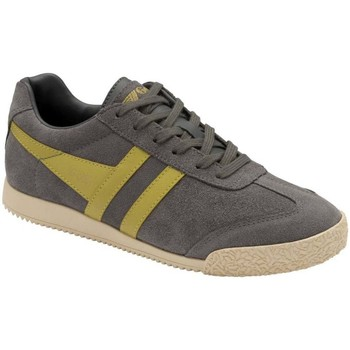 Shoes Women Fitness / Training Gola Harrier Suede Womens Trainers grey