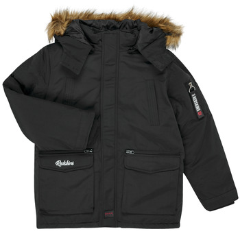 Clothing Boy Parkas Redskins REF-48105 Black