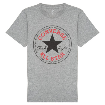 Clothing Boy Short-sleeved t-shirts Converse 966500 Grey