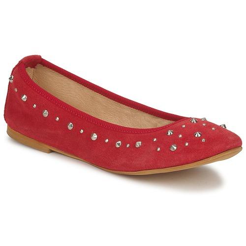 Shoes Women Flat shoes Meline LUSON Red