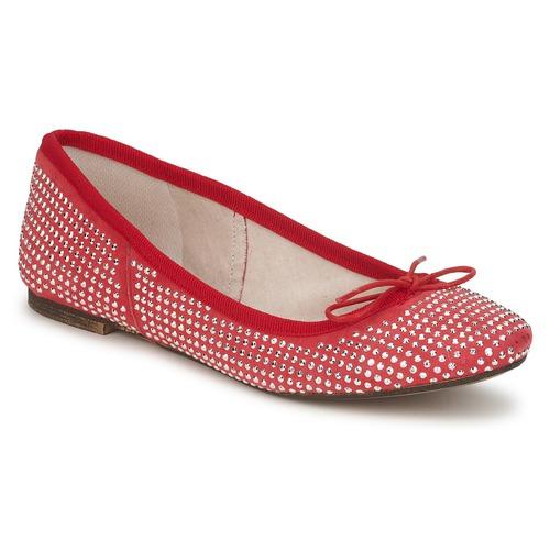 Shoes Women Flat shoes Meline BALDE ROCK Red