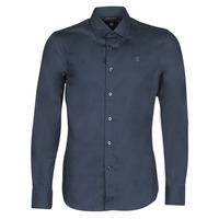 Clothing Men long-sleeved shirts G-Star Raw DRESSED SUPER SLIM SHIRT LS Mazarine / Blue