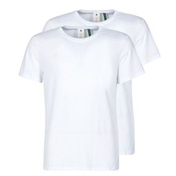 Clothing Men Short-sleeved t-shirts G-Star Raw NY JERSEY R White