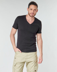 Clothing Men Short-sleeved t-shirts G-Star Raw PREMIUM 1 BY 1 O  black