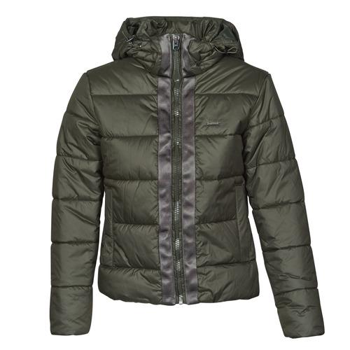 Clothing Women Duffel coats G-Star Raw MEEFIC HDD PDD JACKET WMN Kaki
