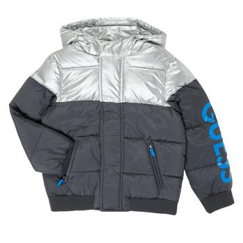 Clothing Boy Duffel coats Guess N0YL00-W7S10-PHTM Grey