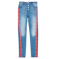 Clothing Girl Slim jeans Guess J0BA02-D3UF0-LTIW Blue